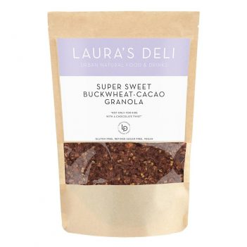 SUPER SWEET BUCKWHEAT CACAO GRANOLA