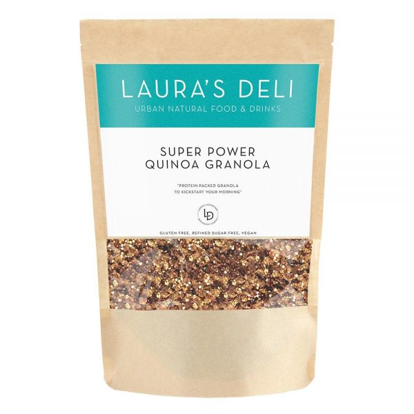 SUPER POWER QUINOA GRANOLA