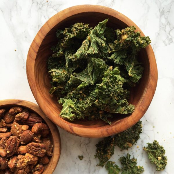 BACK IN SEASON! SUPER GUILT-FREE DEHYDRATED KALE CHIPS